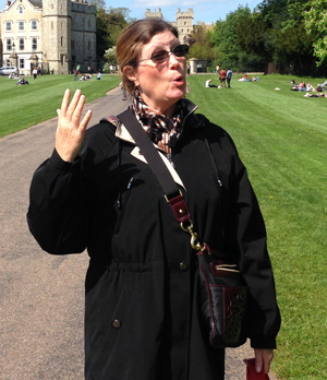 Trudi Melohn at Windsor Castle - Helloooo!