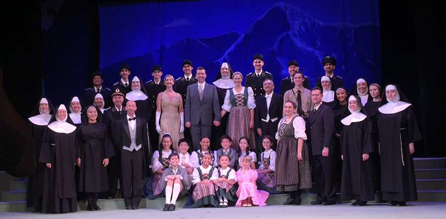 DHT The Sound of Music Cast Photo