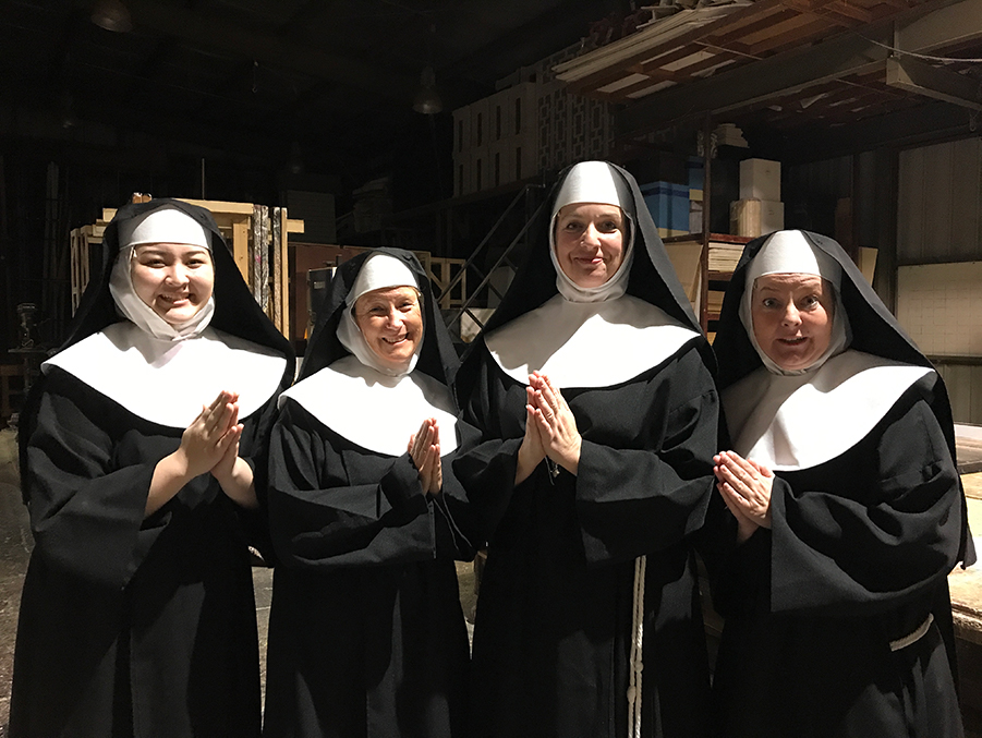 Sound of Music: Rev. Mother & 3 sisters