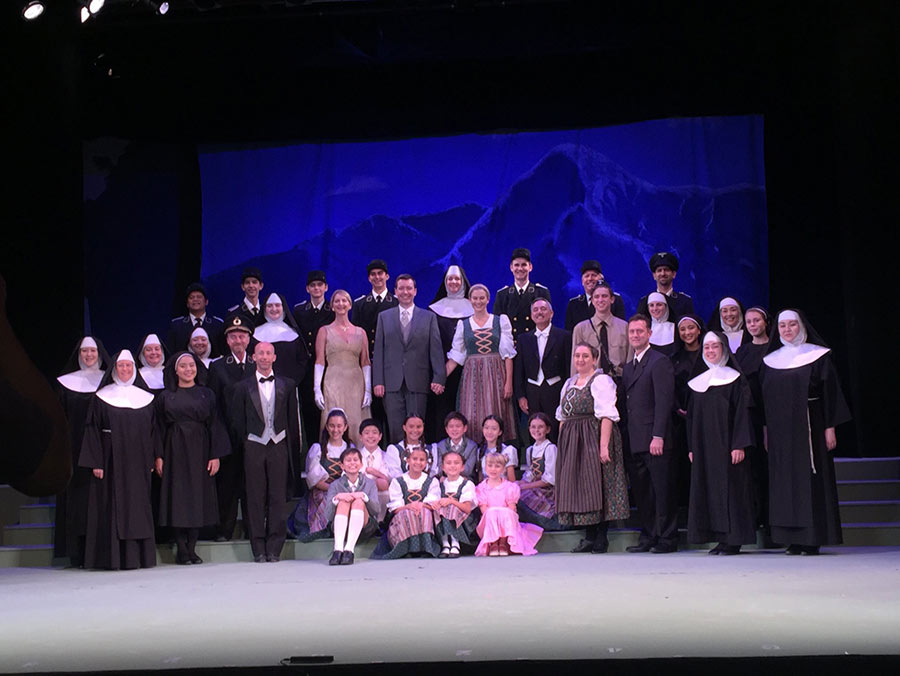 Sound of Music DHT Full Cast